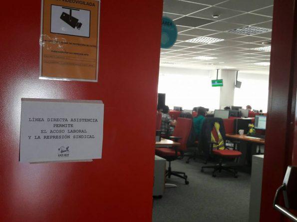 Linea directa asistencia permite el acoso laboral y la for Oficinas linea directa madrid