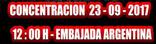 Concentración 23/9/2017