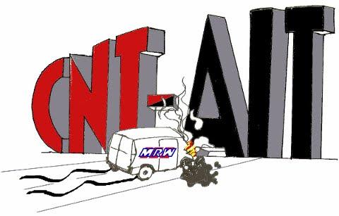 Logo Secc. Sindical CNT en MRW